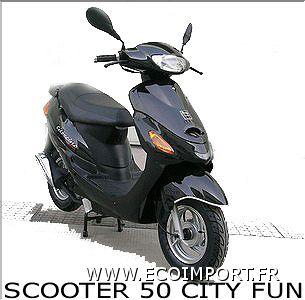 vente scooter 50 city fun 50cc. Black Bedroom Furniture Sets. Home Design Ideas