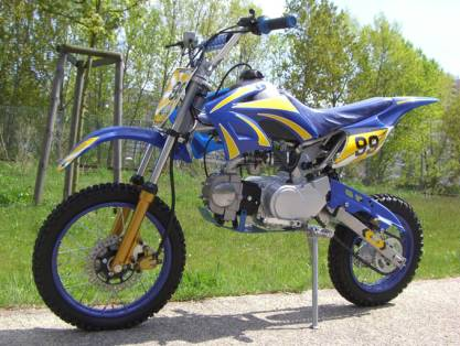 Site de vente de moto cross dirt 125 ?  Questions